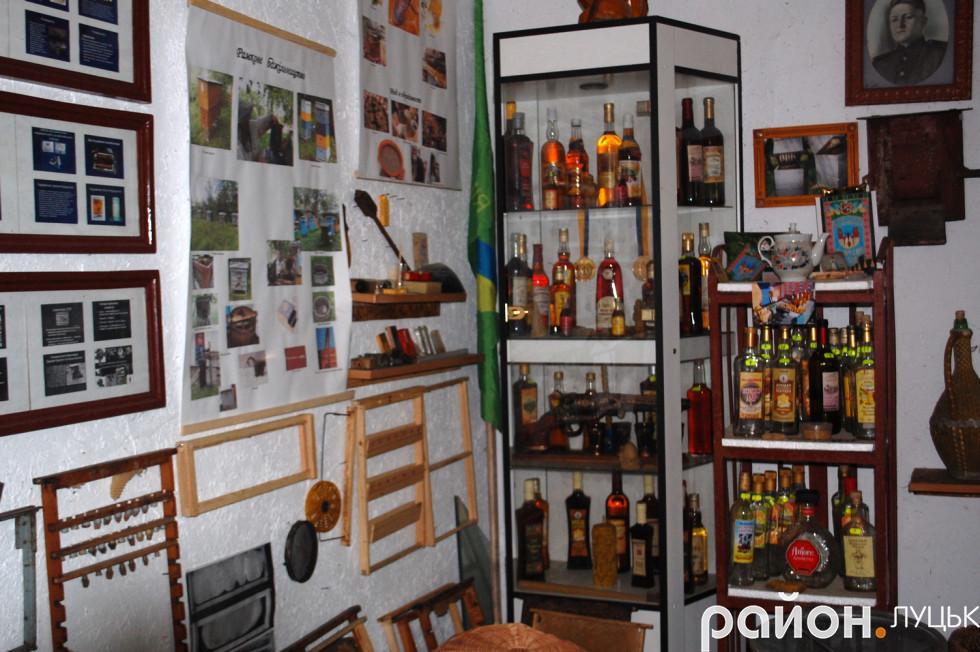 Склад питного меду в музеї