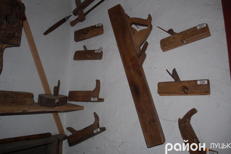 Музейні експонати Баєва