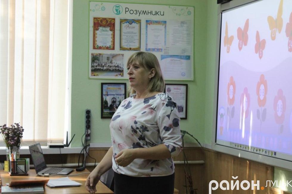 Вчитель початкових класів Наталія Романченко стала класним керівником першого класу «розумників»