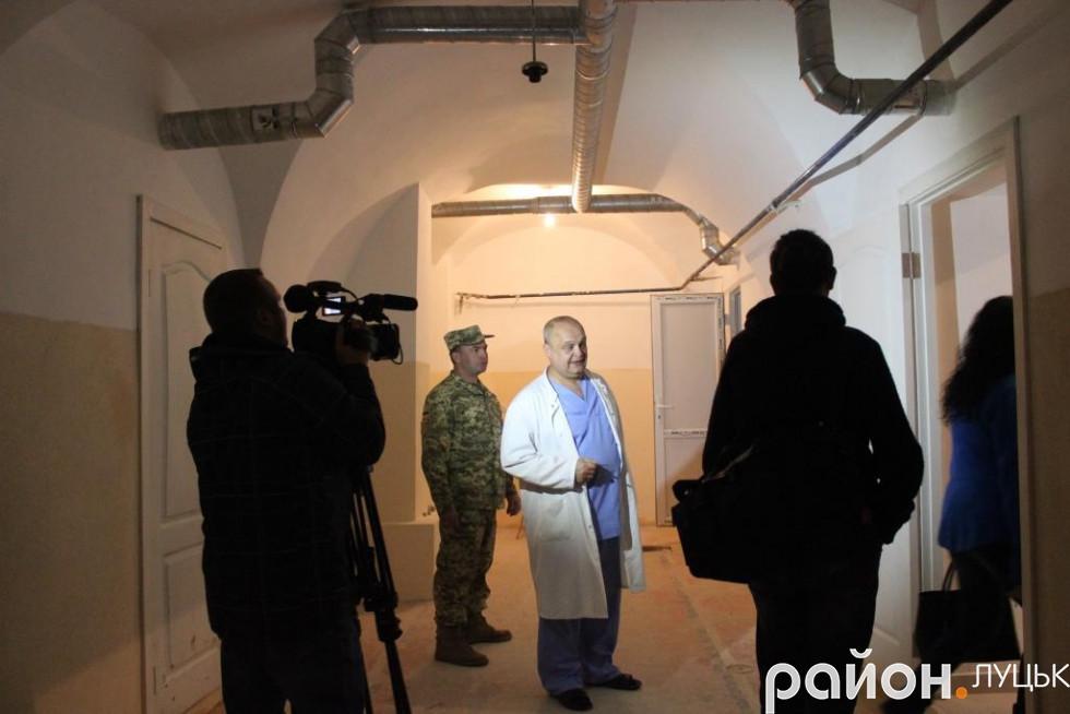 У планах госпіталю – відкрити кабінет лікувальної фізкультури у підвалі
