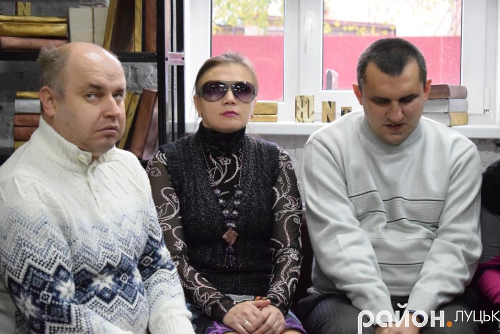 Віталій Мельник, Леся Хижук, Віталій Ткачук