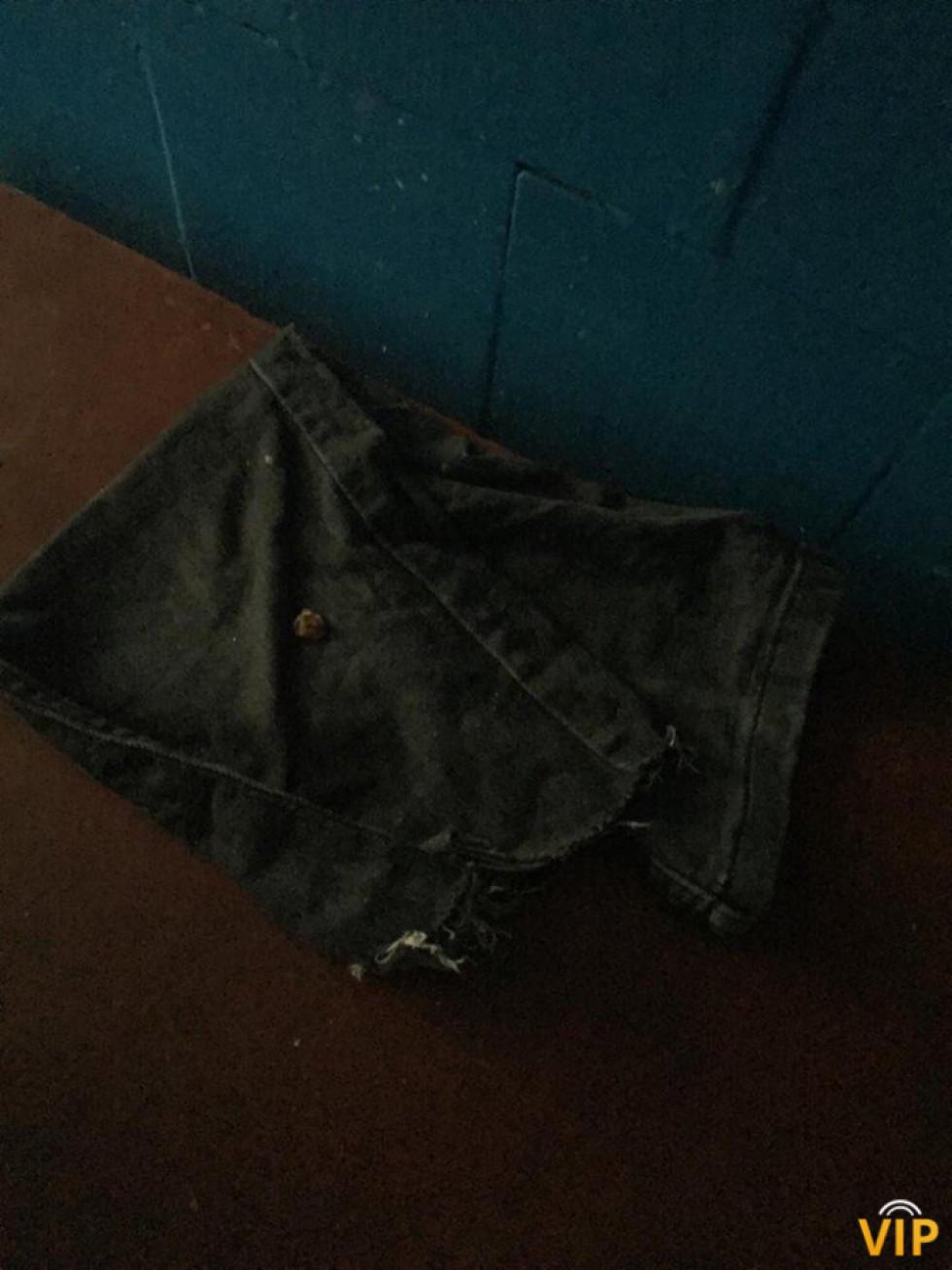 Колошва джинсів як атрибут здійснення прибирання