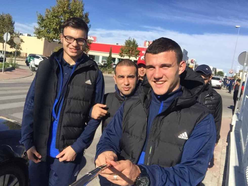 Ярослав Деда з партнерами по новій команді