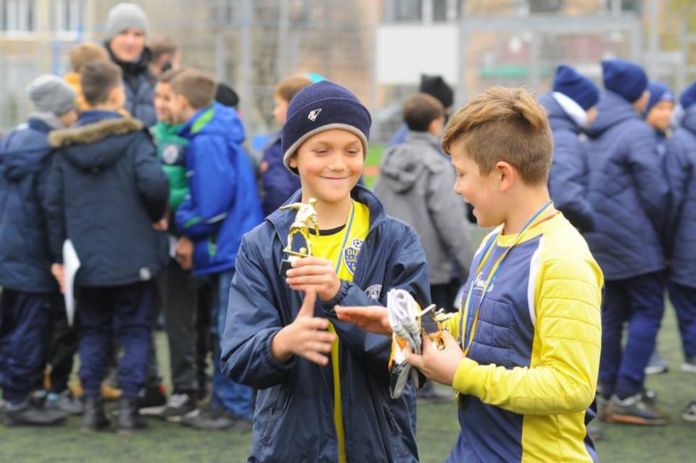 Крім медалей та кубків вручали ще й індивідуальні нагороди найкращим гравцям