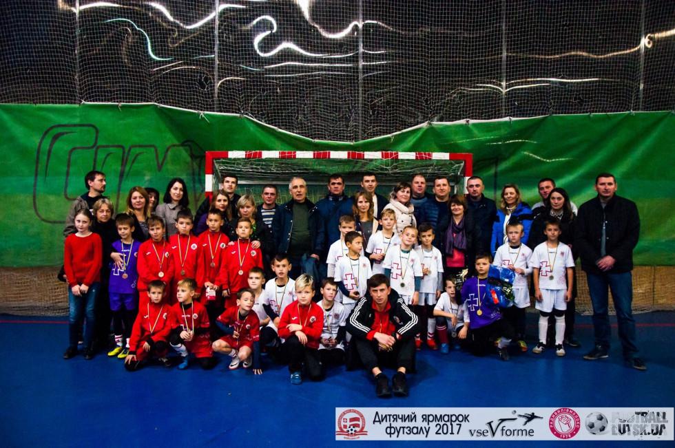 З різним успіхом на «Ярмарку футзалу» виступили дві дитячі команди луцької «Волині»