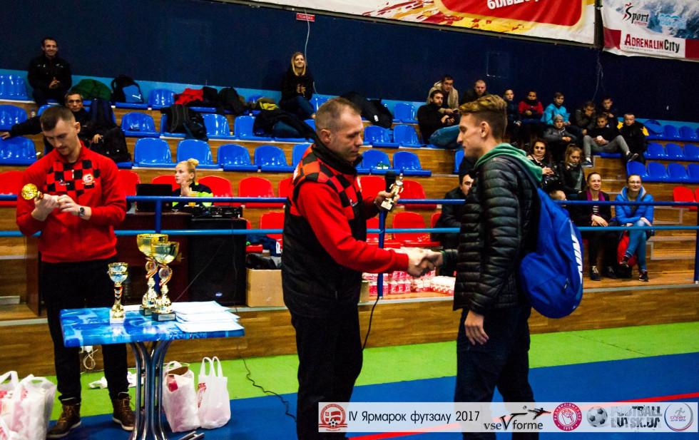 Кращим на «Кубку трійки» став гравець «Камаз-Агро» Антон Дригульський