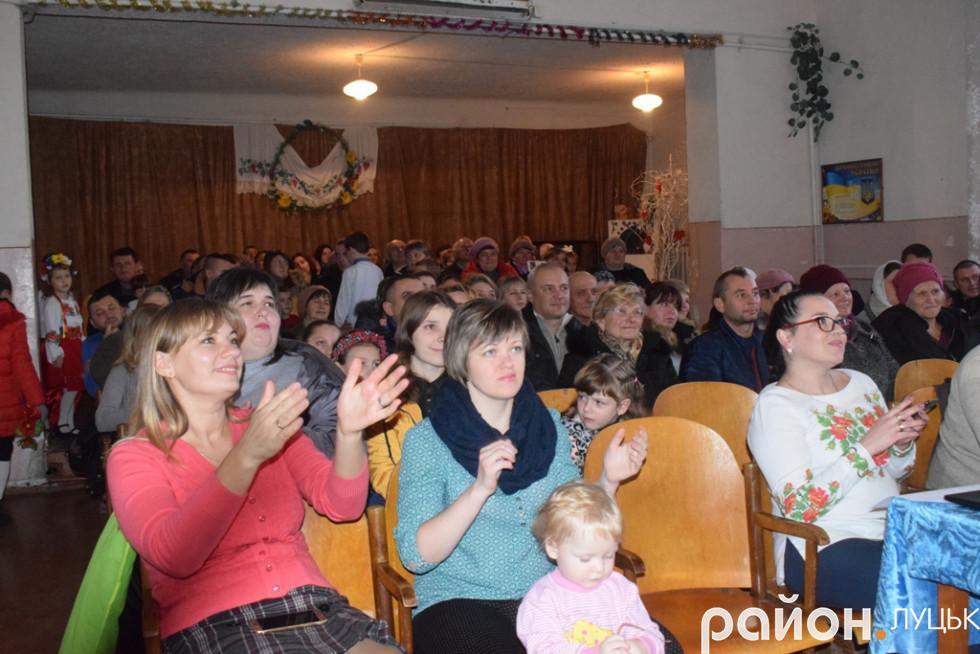 Гурт особливо сподобався місцевим глядачам