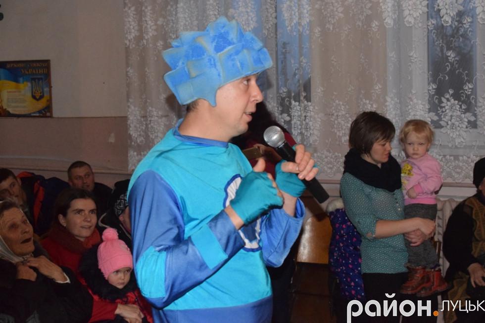 «Нулик» дає перші «настанови» дітлахам села Милуші