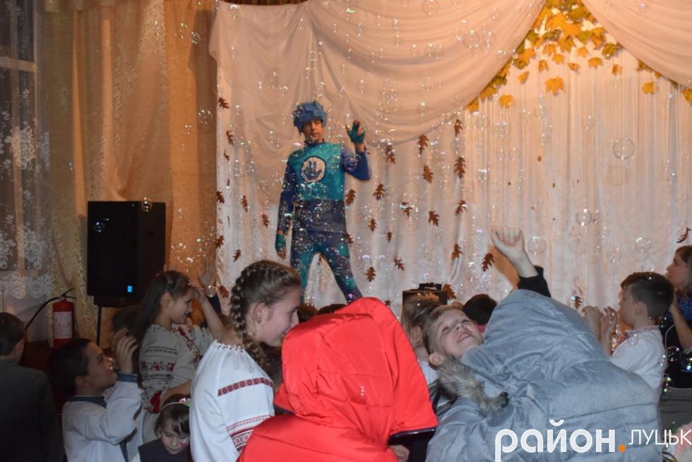 Радості дітей під час бульбашкової дискотеки не було меж