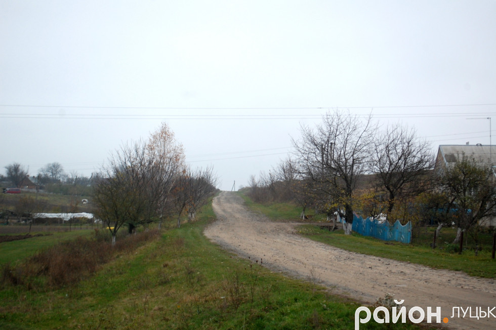 Дорога у селі Цеперів