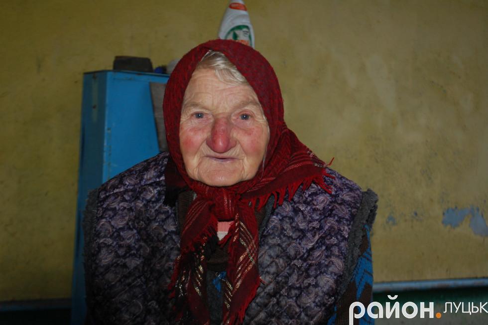 Місцева жителька Софія Вегера