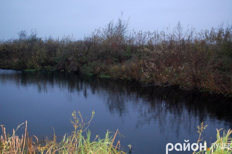 Ставок «Овечник», який викопали місцеві жителі і ловлять там рибу та смажать шашлики