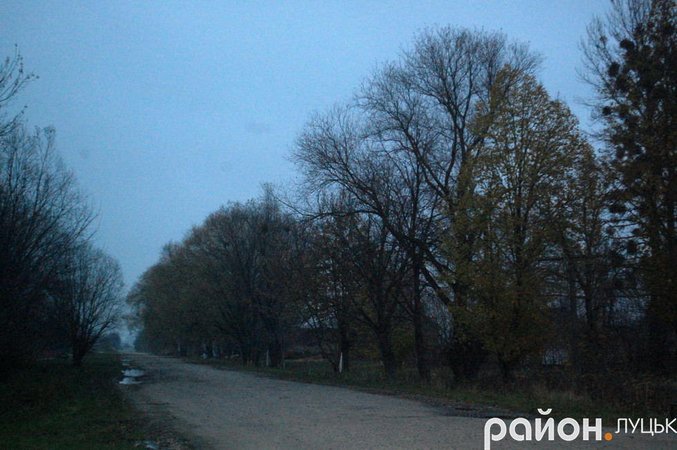Дорога, яка веде до Луцька