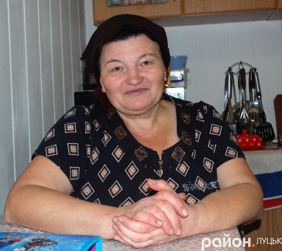 Місцева жителька Олена Андрійчук