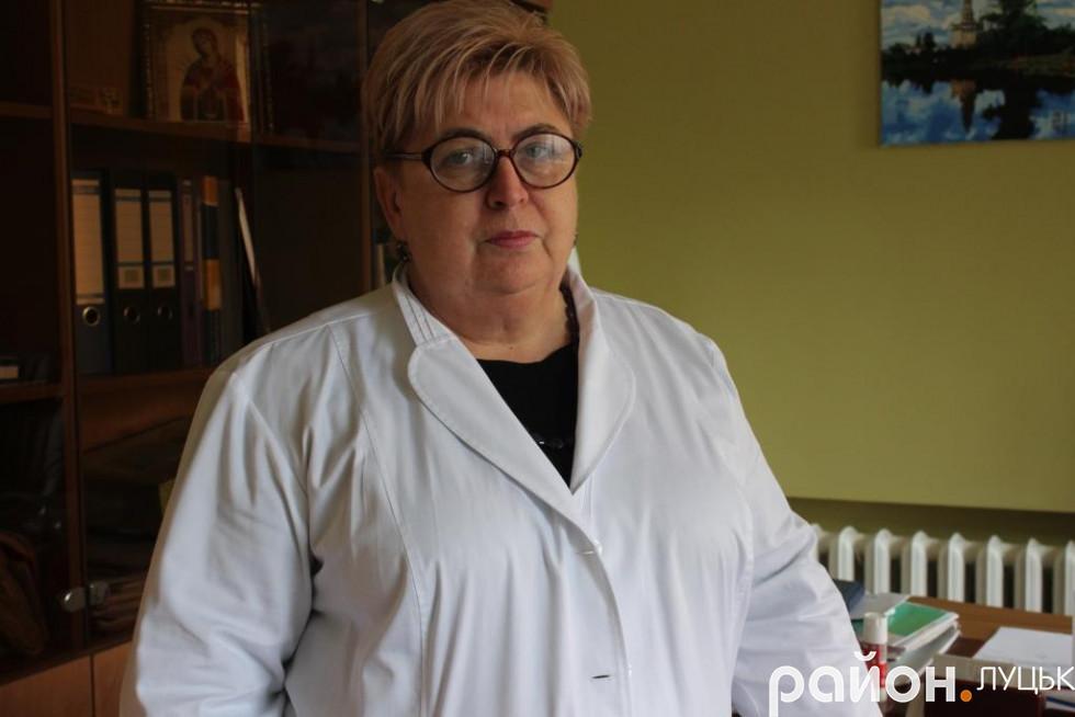 Людмила Юрко переконана, що для нормального харчування пацієнтів грошей треба виділяти хоча б удвічі більше