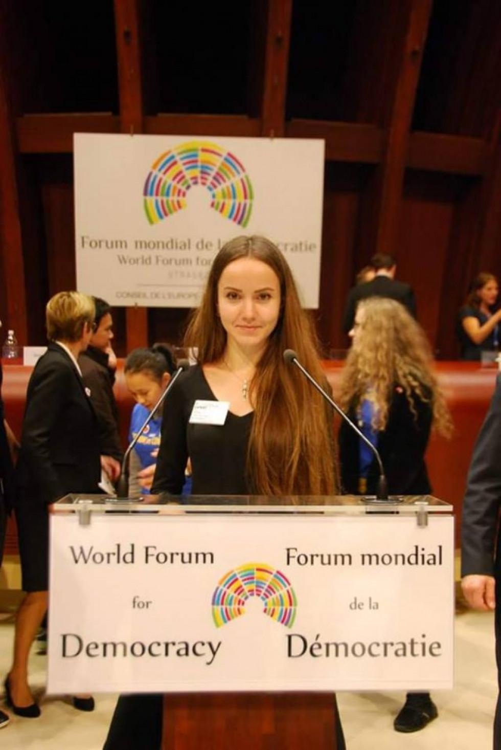 World Forum for Democracy в Стразбурзі