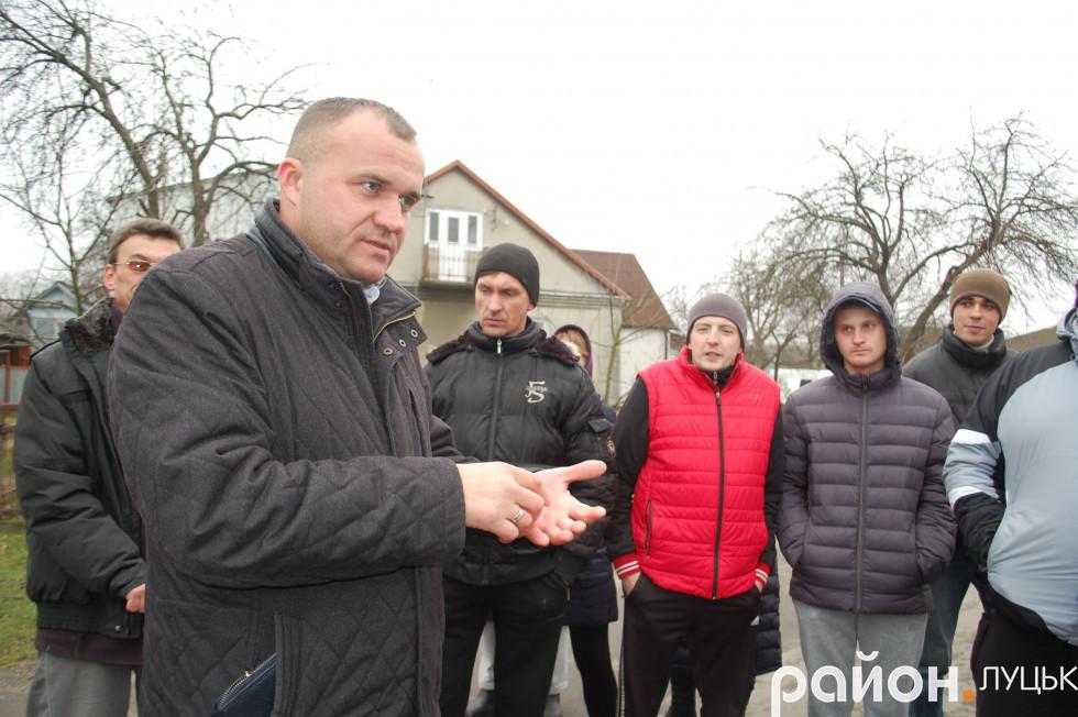 Петро Нестерук звітується перед своїми виборцями