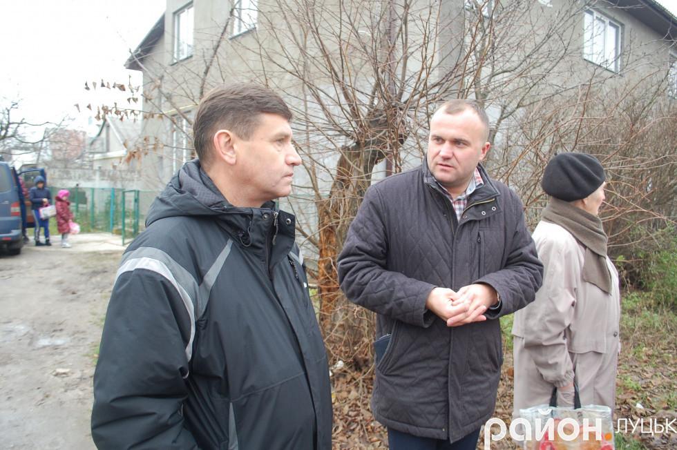 Петро Нестерук поспілкувався зі своїми виборцями