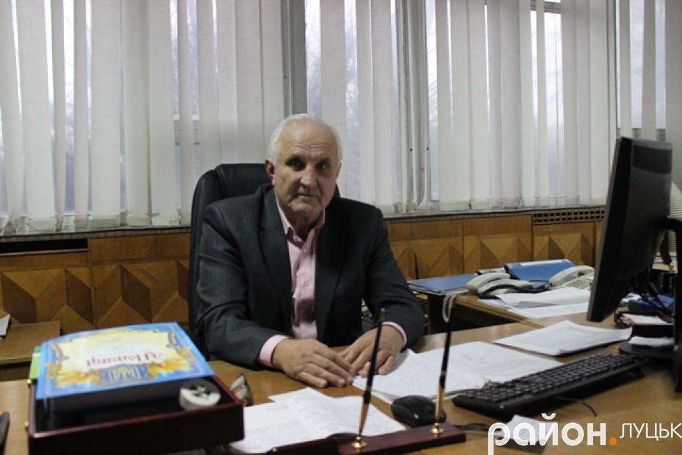 Володимир Пуц, в.о. керівника комунального підприємства «Луцьке підприємство електротранспорту»