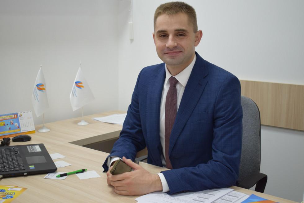 Начальник управління клієнтського сервісу Юрій Петрук
