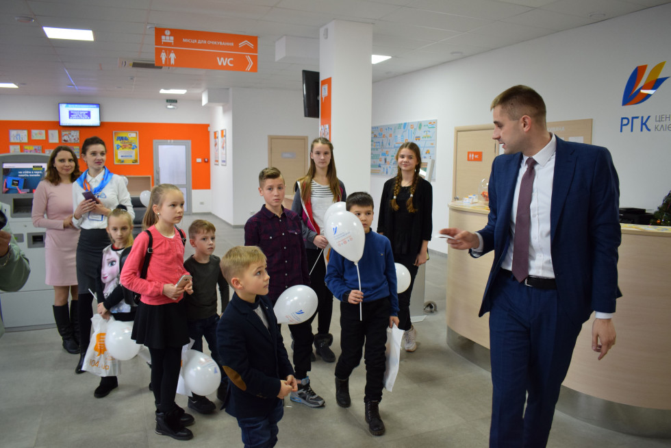 Екскурсія Центром обслуговування клієнтів для дітей