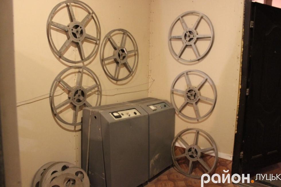 Колись на них були плівки з фільмами