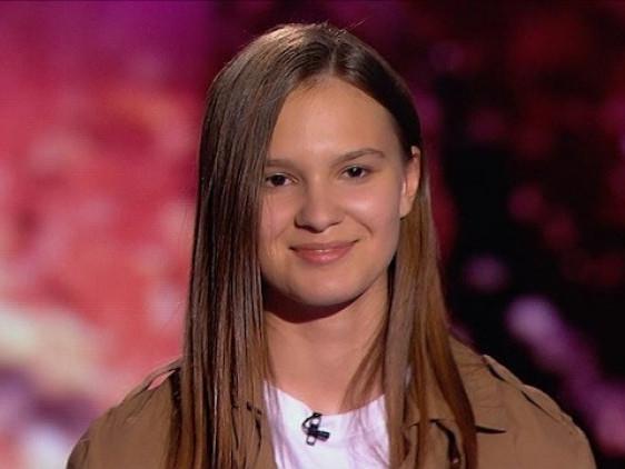 Ліза Яковенко, 14 років