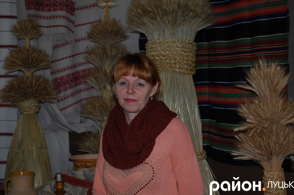 Завідувачка відділу етнографії музею Людмила Мірошниченко-Гусак