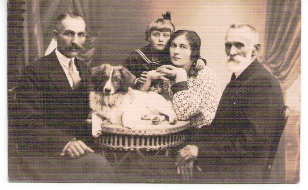 Фотосалон в Ковелі, 1920-ті.