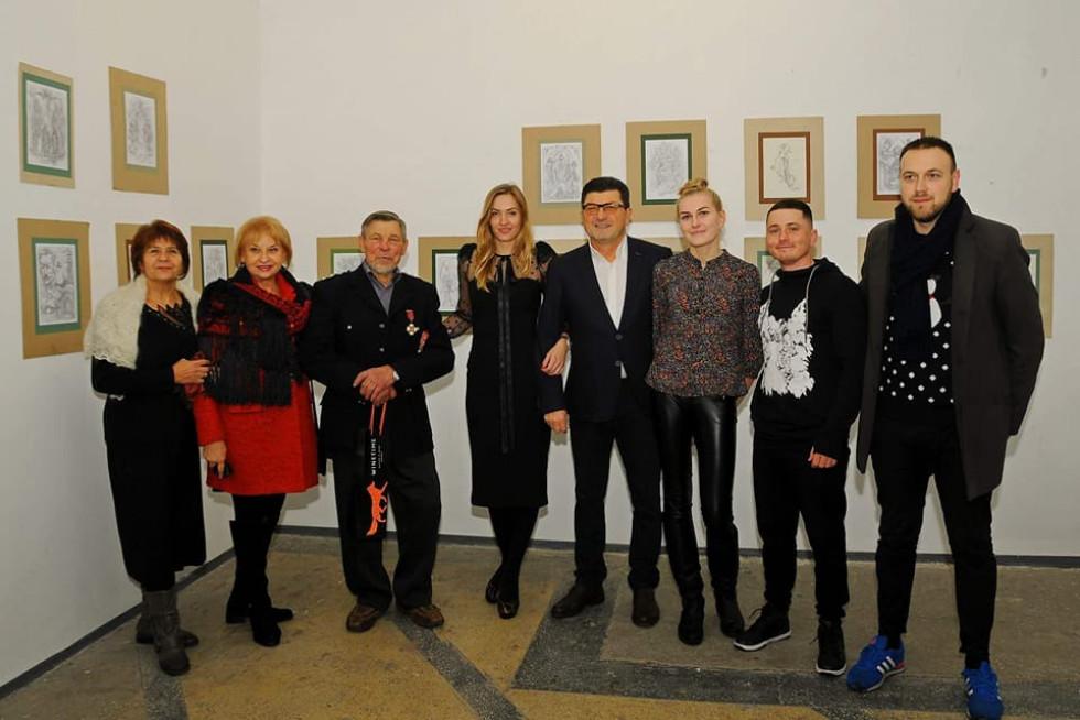 Виставка рисунків луцького скульптора Миколи Голованя