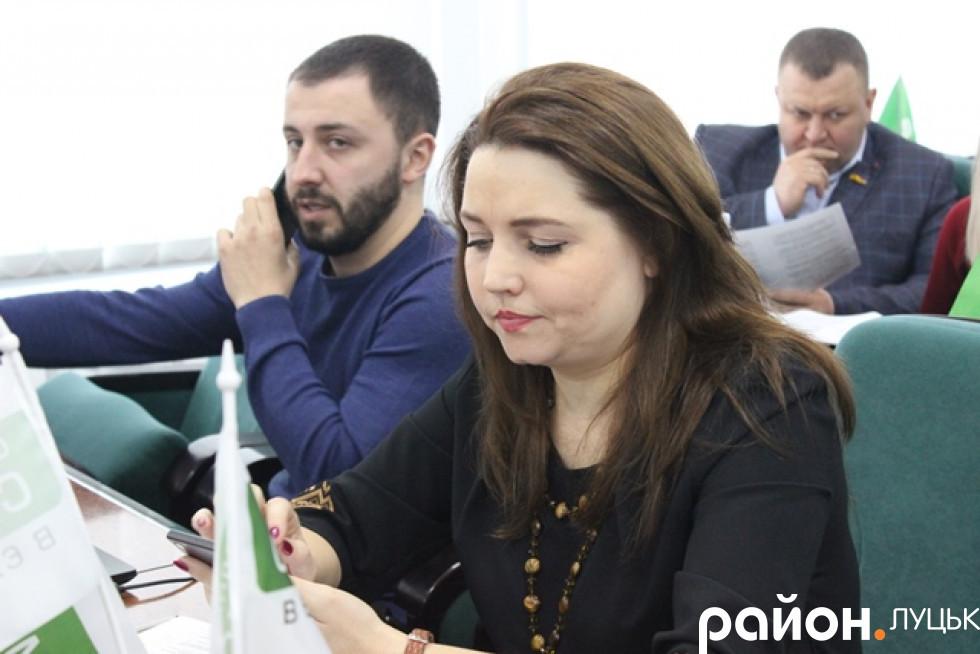 Алла Надточій, фракція «Самопоміч»