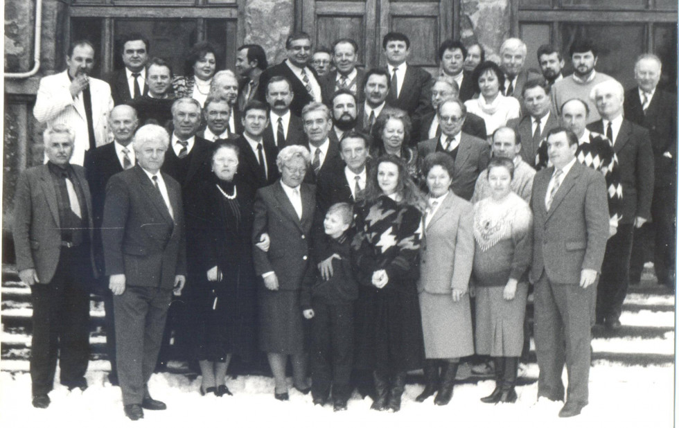 З колегами на кафедрі давньої та нової історії України