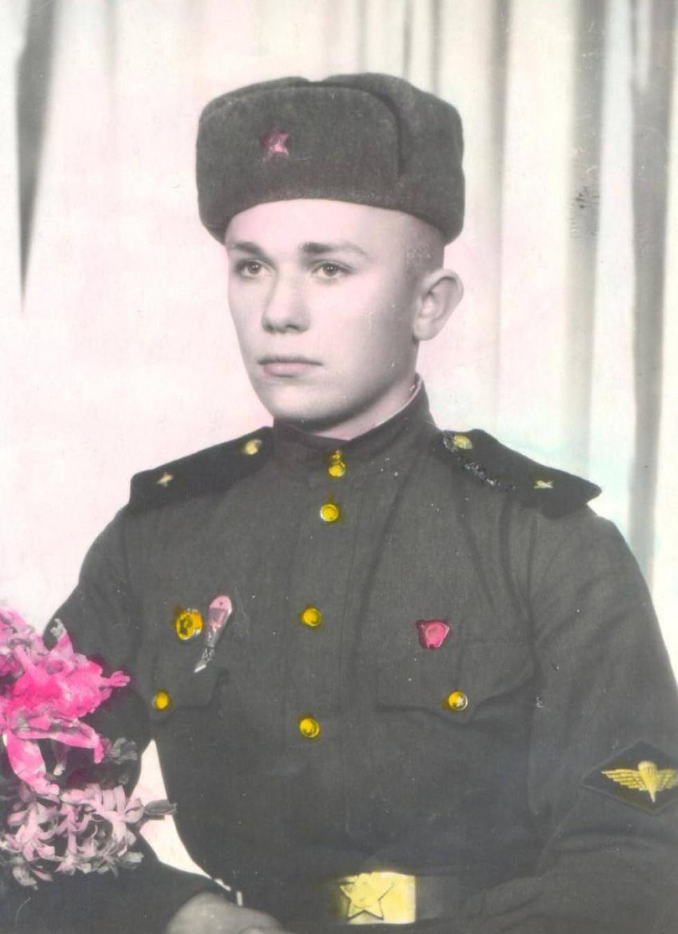 Богдан Заброварний під час служби в армії