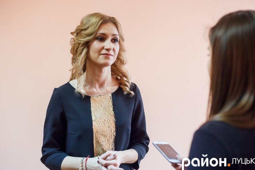 Викладачка англійської мови Наталія Крупська