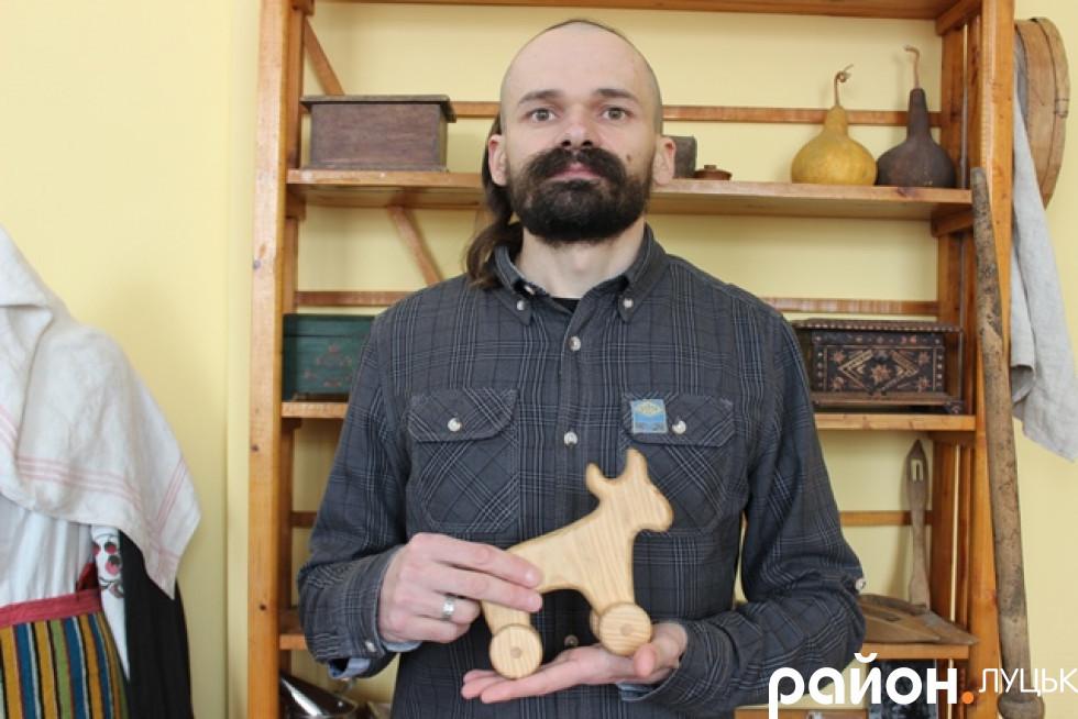 Андрій Бондарук, майстер народної іграшки