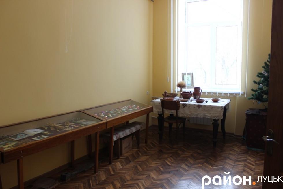Кімната музею зі змінною експозицією