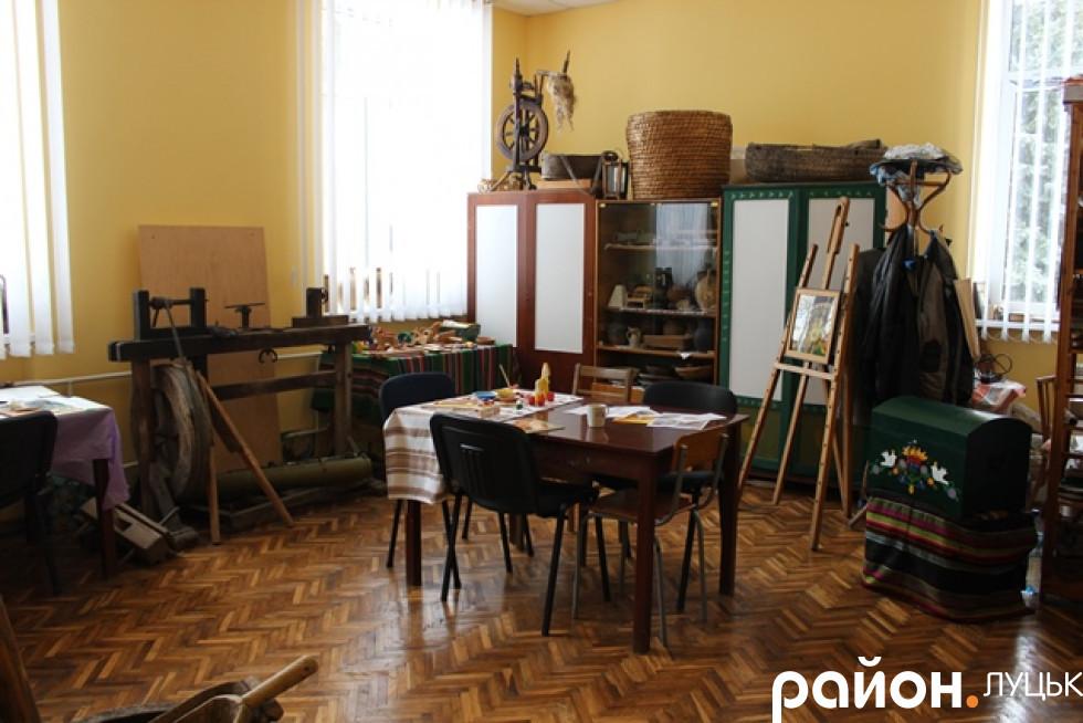 Кімната музею з постійною експозицією