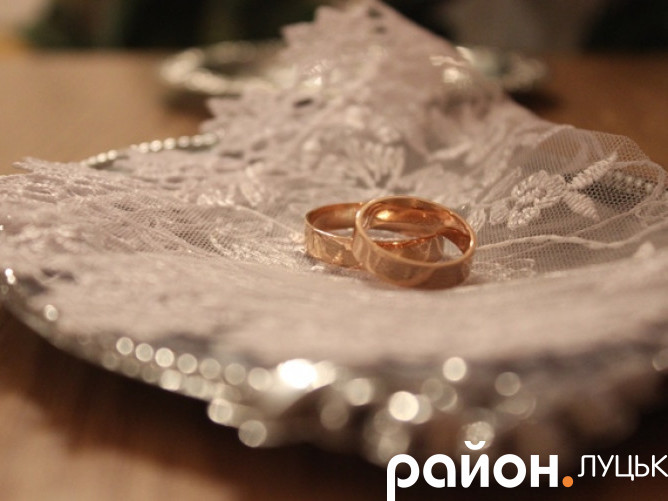 Весілля у Луцьку