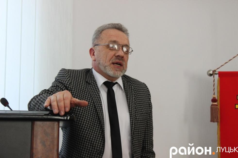 Тарас Рабан, очільник Спілки архітекторів міста