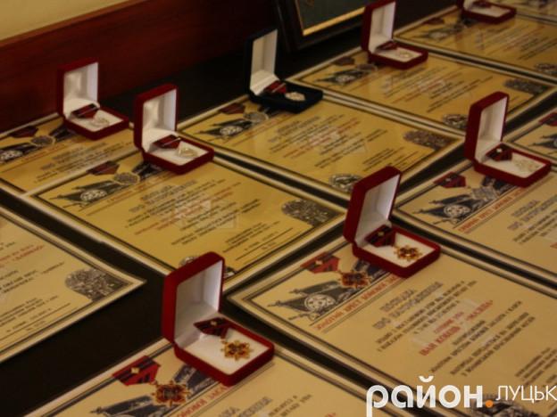 Нагороди для родичів Лицарів