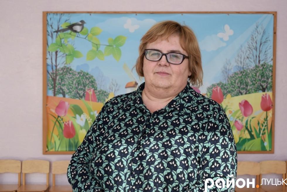 В.о. директора садочка № 33 Світлана Можар