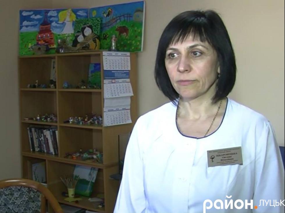 Заступниця головного лікаря з медичної частини обласного госпіталю ветеранів війни Оксана Шкаровецька