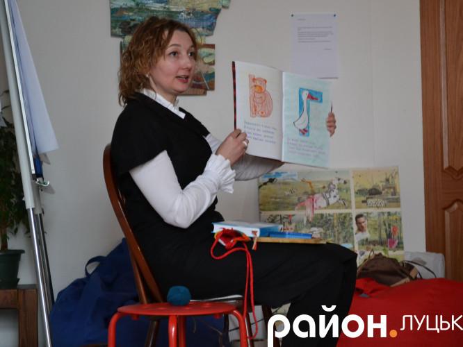 Одна з ініціаторок луцької вальдорфської ініціативи Руслана Гудим
