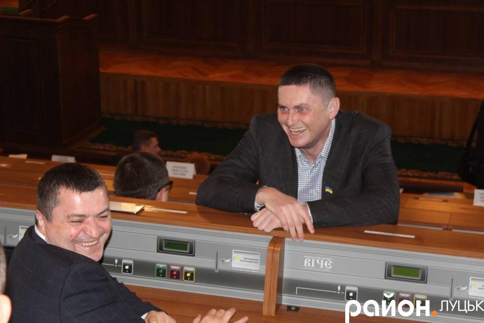 Депутат Волиньради Володимир Кучер
