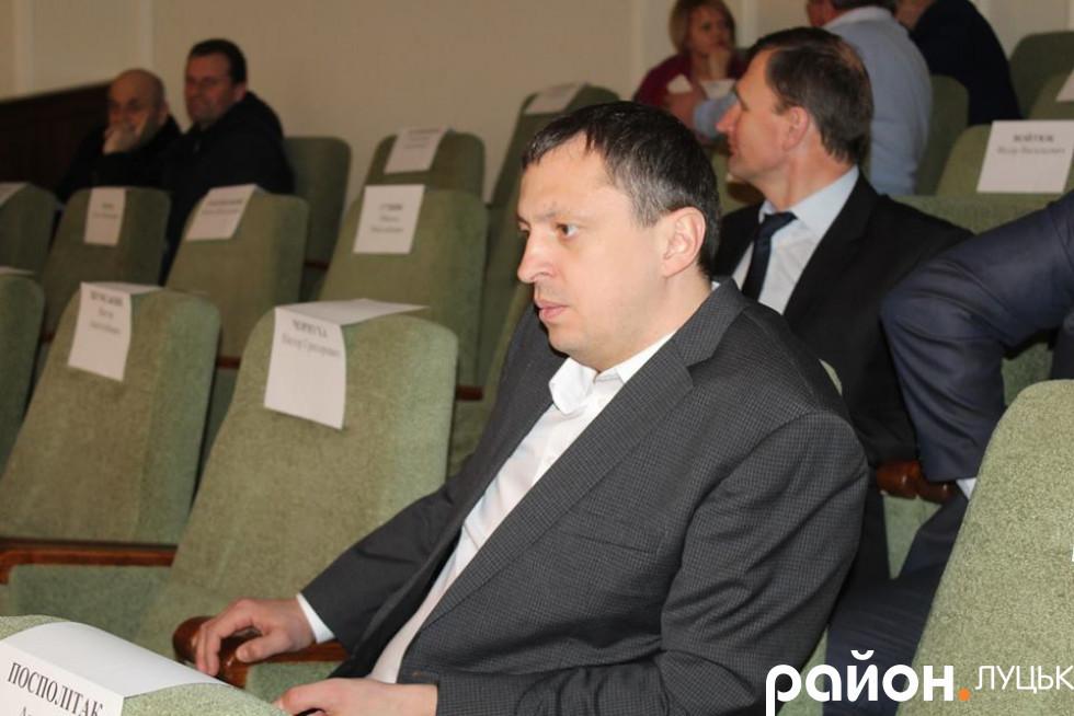 Керівник компанії «Луцьксантехмонтаж» Ігор Чорнуха
