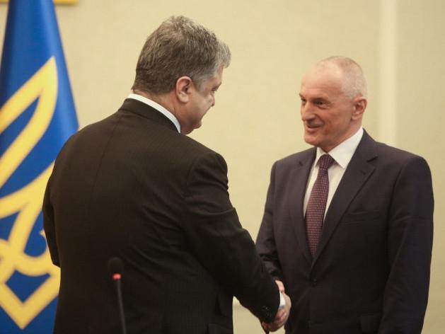 Порошенко приїздив у Луцьк особисто представити нового голову ВОДА Олександра Савченка