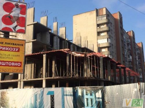 Будівництво житлового комплексу «Егоїст»
