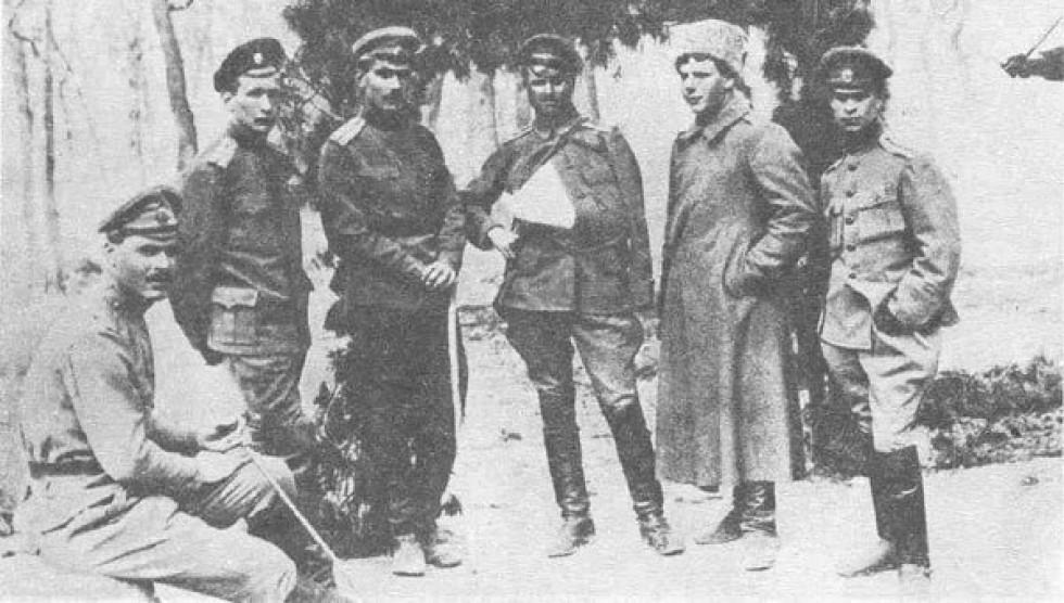Солдати Гренадерського Сибірського полку