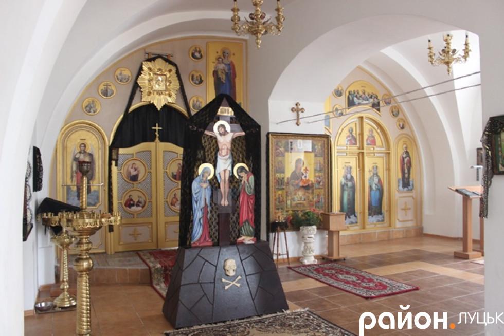 Храм, у якому моляться за душі в'язнів Луцької тюрми