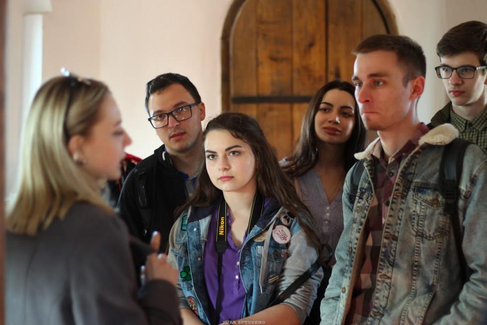 Учасники зацікавлені історією луцького замку